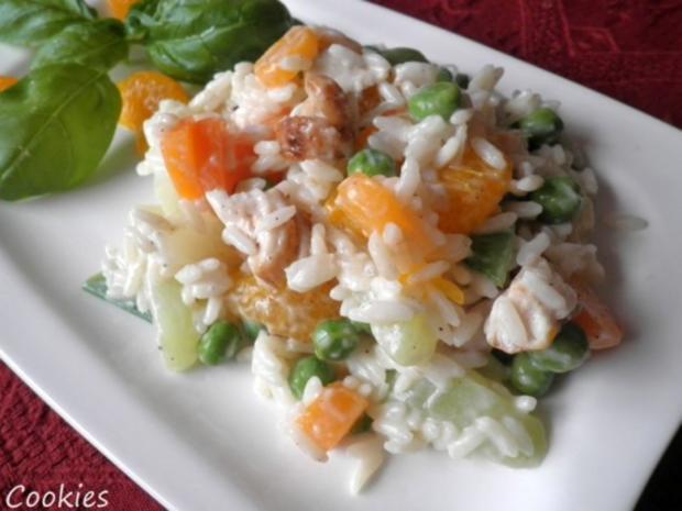 Fruchtig - bunter Reissalat - Rezept - Bild Nr. 11