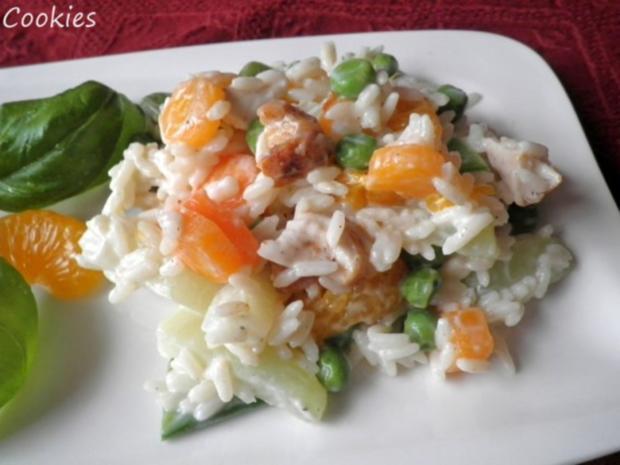 Fruchtig - bunter Reissalat - Rezept - Bild Nr. 2