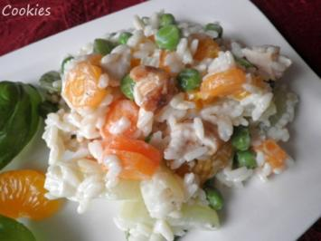 Rezept: Fruchtig - bunter Reissalat