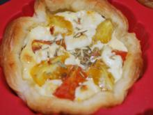 Kirschtomaten-Tarteletts - Rezept