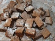 Schokoladenschnitten mit Himbeergelee - Rezept