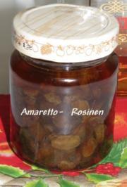 Sisserl's  *Amaretto-Rosinen*  selbst gemacht - Rezept