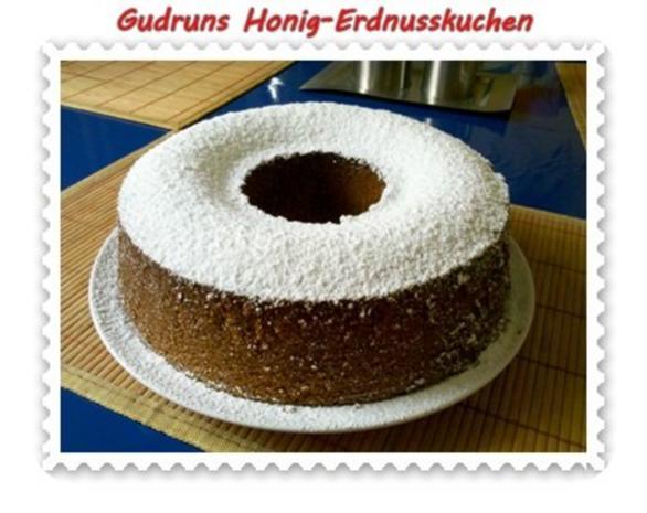 Kuchen: Honig-Erdnusskuchen - Rezept - Bild Nr. 2