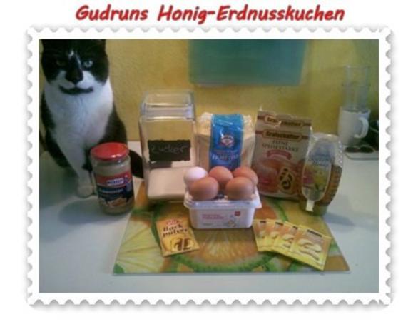 Kuchen: Honig-Erdnusskuchen - Rezept - Bild Nr. 3