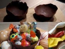 Schokoladen Osternest leicht gemacht! - Rezept