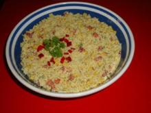 Curry-Reissalat - Rezept