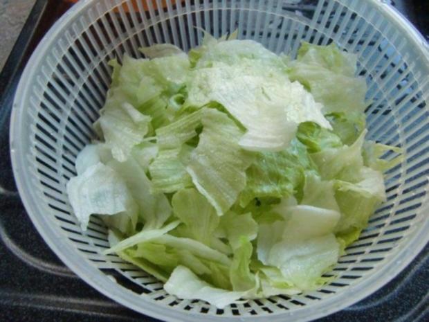 abnehmen mit salat und wasser