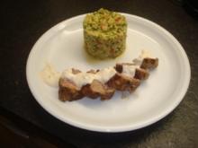Lammfleisch-Köfte mit Tabbouleh - Rezept