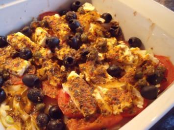 Tomaten-Feta-Gratin - Rezept