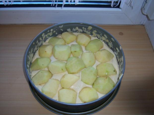 Apfel-Sauerrahmkuchen - Rezept - Bild Nr. 5