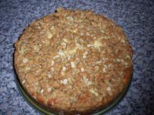Apfel-Sauerrahmkuchen - Rezept