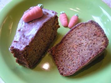 Rübli-Apfel-Kuchen mit Amaretto - Rezept