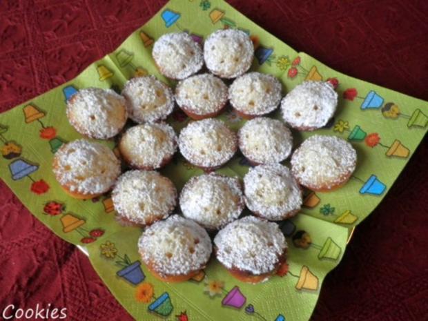 Zitronige Mini - Muffins ... - Rezept