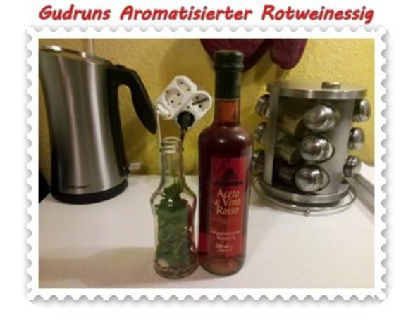Essig: Aromatisierter Rotweinessig - Rezept - Bild Nr. 4