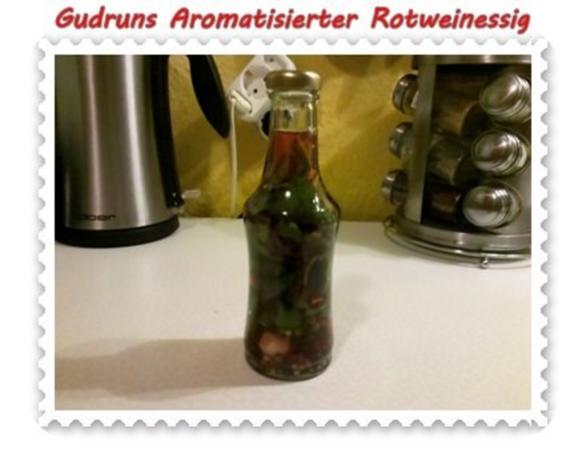 Essig: Aromatisierter Rotweinessig - Rezept - Bild Nr. 5