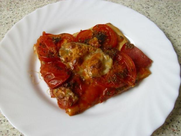 Schnelle Ww Pizza Rezept Mit Bild Kochbarde