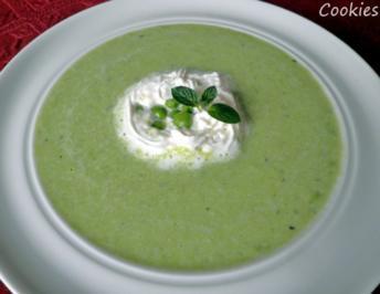 Grünes Süppchen - Rezept