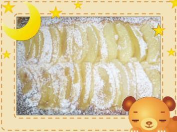 Süßer Apfelauflauf - Rezept