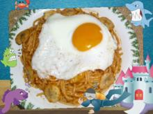 Spaghetti mit Bananen - Rezept