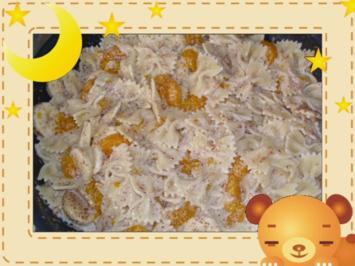 Süße Nudeln mit Bananen - Rezept