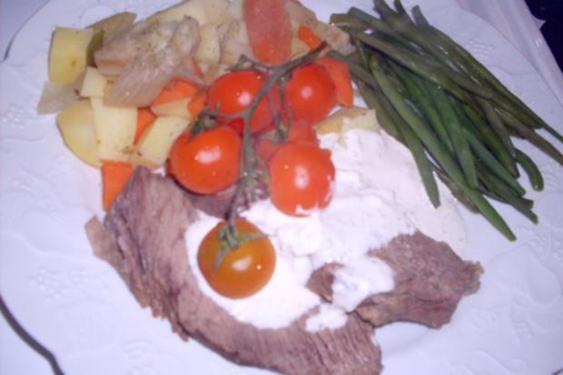 Tafelspitz mit Bouillonkartoffeln und Grünen Bohnen - Rezept - Bild Nr. 5