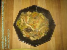 Asiatisch – Schnelles Glasnudelpfännchen mit Schweinefleisch a'la Manfred - Rezept