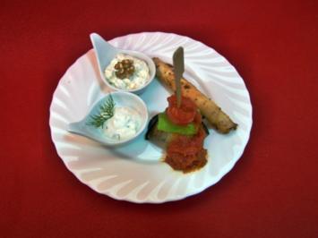 Meze tabağı - kalte und warme Vorspeisen - Rezept