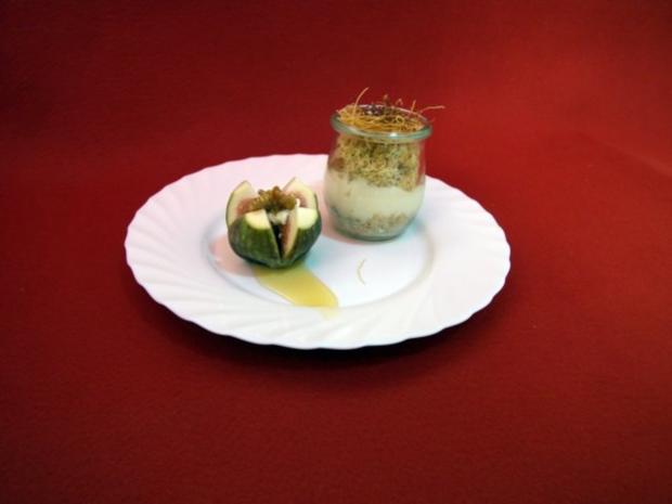 Muhallebili Tel Kadayıf - Engelshaar mit Milchcremefüllung - Rezept