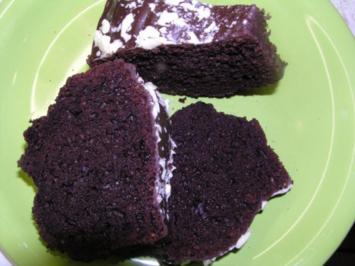 Schokoladenkuchen mit Amaretto - Rezept