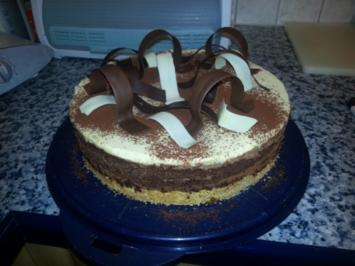 dreierlei Mousse-Torte - Rezept