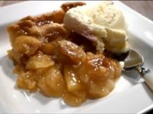 Grandma`s American Apple Pie recipe / Apple Pie nach Großmutters Rezept - Rezept