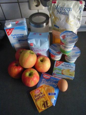 Bratapfelkuchen - Rezept - Bild Nr. 2