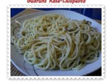 Nudeln: Käse-Chilipesto mit Spaghetti - Rezept