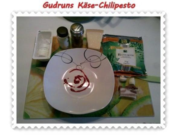 Nudeln: Käse-Chilipesto mit Spaghetti - Rezept - Bild Nr. 3