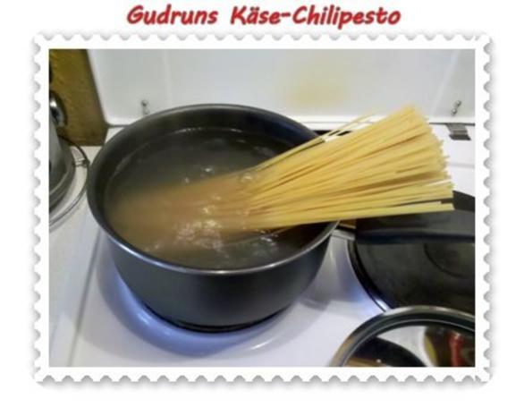Nudeln: Käse-Chilipesto mit Spaghetti - Rezept - Bild Nr. 4