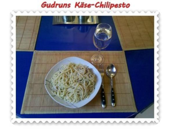 Nudeln: Käse-Chilipesto mit Spaghetti - Rezept - Bild Nr. 8