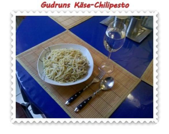 Nudeln: Käse-Chilipesto mit Spaghetti - Rezept - Bild Nr. 9