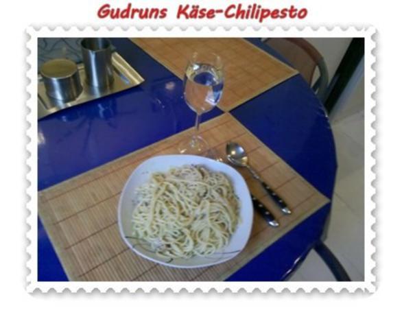 Nudeln: Käse-Chilipesto mit Spaghetti - Rezept - Bild Nr. 10