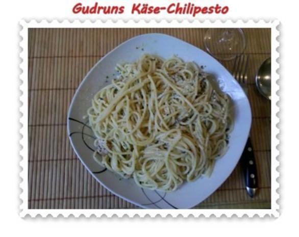 Nudeln: Käse-Chilipesto mit Spaghetti - Rezept - Bild Nr. 11