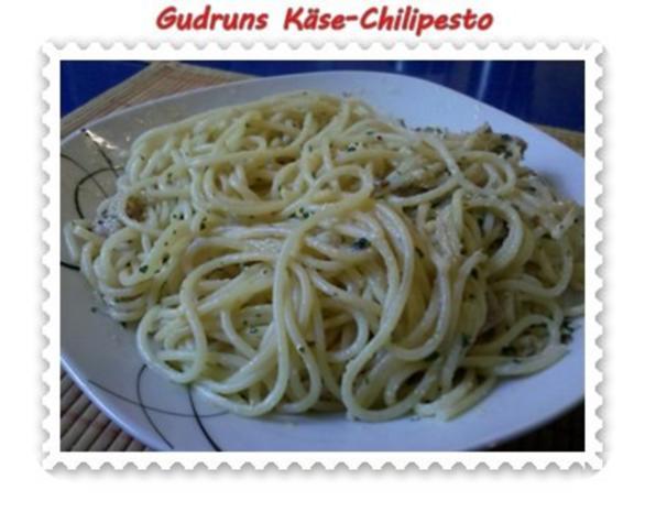 Nudeln: Käse-Chilipesto mit Spaghetti - Rezept - Bild Nr. 12