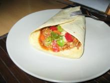 Mexikanische Wraps - Rezept