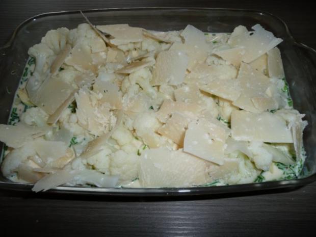 Hackbraten , Blumenkohl - Kartoffel - Gratin - Rezept - Bild Nr. 9