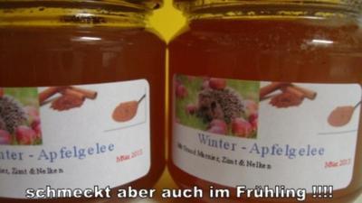 Winter Apfel Gelee - Rezept