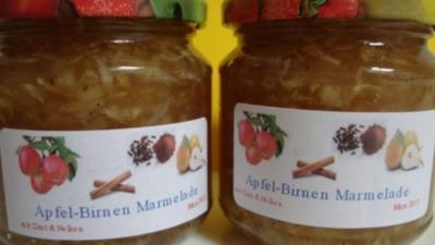 Birnen-Apfel Marmelade - Rezept