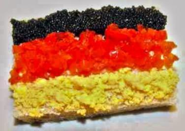 Deutschland Sandwich - Rezept