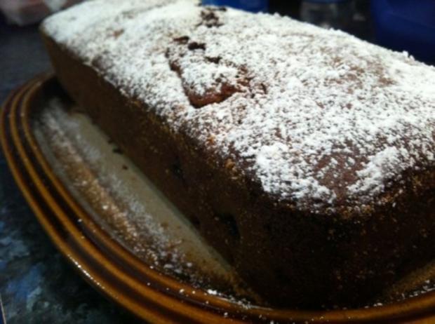 Kirsch Schoko Kuchen (ohne Fett) - Rezept - Bild Nr. 2