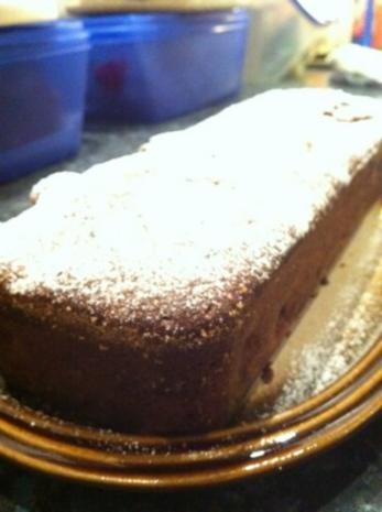 Kirsch Schoko Kuchen (ohne Fett) - Rezept - Bild Nr. 3