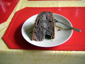 Schoko - Bananen - Kuchen - Rezept