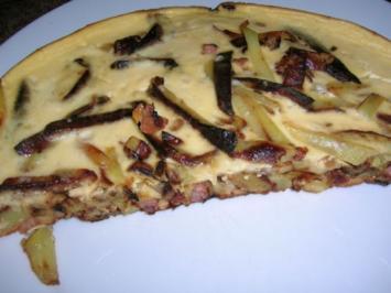 Pillekuchen (rheinisches Gericht) - Rezept