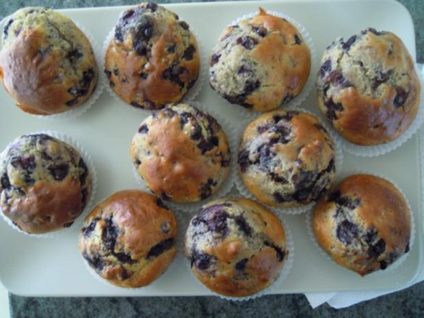 köstliche blaubeermuffins rezept mit bild kochbar de